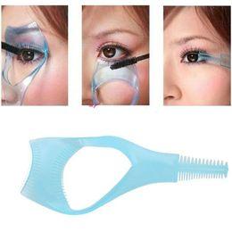 Wholesale Mascara Comb Brush - Wholesale New 3 in 1 Mascara Eyelash Brush Curler Lash Comb Cosmetic Hot Sale Free Shipping