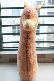 Wholesale Stuff Camel Toys - 2017NEW43'' Alpaca dolls horse toy pillow plush boyfriend cushion sleeping washable pregnant women pillow camel stuffed toys