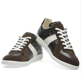 Wholesale Leather Shoe Soles For Sale - Wholesale - Huge Size Maison Martin Margiela Sneakers For Men Womens Beautiful Quality White Sole Shoes On Sale Size 36-46