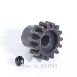Wholesale Nimh C - M1 15T 5mm Shaft Steel Pinion for Car Motors R C Hobby Motor Gear hobbywing