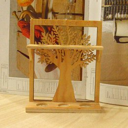 Wholesale Wood Display Racks Wholesale - Wooden display rack display stand showing Home Office wood show shelf display shelves Storage Shelf Jewelry rack