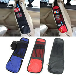 Wholesale Auto Fabric Seat - New Waterproof fabric Car Auto Vehicle Seat Side Back Storage Pocket Backseat Hanging Storage Bags