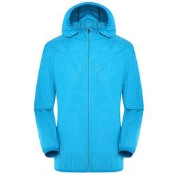 Wholesale Flash Jackets - Men Women Quick Dry Hiking Jacket Waterproof Sun Protection Anti-UV Coats Outdoor Sport Skin Jackets Rain Wear Jackets