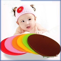Wholesale Honeycomb Table - Super Candy Thickening Honeycomb Silicone Pad Anti Skid Pads High Quality Heatproof Table Mats Direct Deal 2 35ww R