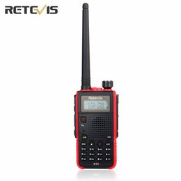 Wholesale Vhf Mobile - Wholesale- 5W Durable Walkie Talkie Retevis RT5 5Km Dual Band VHF UHF Handsfree Mobile Amateur Radio Portable Ham Two Way Radio Transceiver