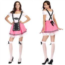 Wholesale Womens Corduroy Dresses - Womens Ladies Oktobermiss German Oktoberfest Bavarian Fancy Dress Party Costume
