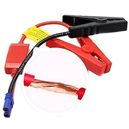 Wholesale Emergency Car Battery Cable - ZOOKOTO 12V Connector Emergency Jumper Lead Cable Alligator Clamp Booster Battery Clips for Universal Car Trucks Jump Starter