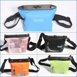 Wholesale Tteoobl Bags - Wholesale-Tteoobl Multifunctional Bag Waterproof IPX8 20m Underwater Sundries Pouch Shoulder Waist Dry PVC Case Outdoor Sports Diving