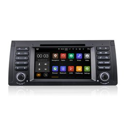 Wholesale Dvd E39 - Android 5.1.1 Car DVD Radio Player GPS Navigator for BMW 5 Series E39 E53 E38 M5 With Wifi Bluetooth DAB+ CanBus