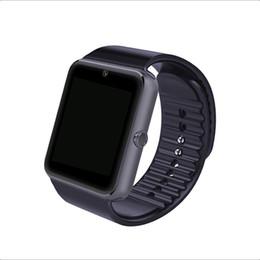 Смарт-часы GT08 Reloj Inteligente поддержка Sim-карты Bluetooth подключение для Iphone Android телефон Smartwatch от