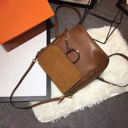 Wholesale Christmas Mail - 2017 New Senior luxury leather women's bags,Paris fashion woman's backpack. Package mail