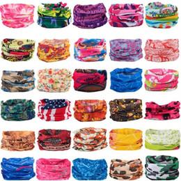 Nueva moda bufanda multifuncional diadema deportes al aire libre turbante protector solar bufandas mágicas velo ciclismo pañuelos sin costuras desde fabricantes
