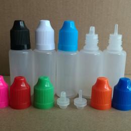 LDPE 15ml Plastic Dropper Bottle Vuoto E liquido Collirio Bottiglie con tappo a prova di bambino e punte fini / grosse per la maggior parte dei liquidi cheap eye drop bottles 15ml da bottiglie di gocce d'occhio 15ml fornitori