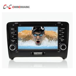 charutos chineses Desconto Octa Núcleo HD Android 6.0.1 Carro DVD Player GPS para Audi TT 2006-2014 com Navegação Rádio Wifi link Espelho DVR estéreo