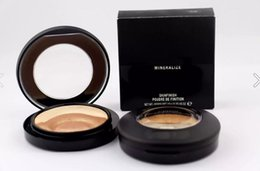 Wholesale Mineralize Skinfinish Natural - 2017 1pcs HOT New Makeup Face Powder Mineralize Skinfinish Poudre de fintion 10g ,Free Shipping