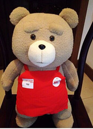 Wholesale Ted Plush Doll - 2017NEW45cm ted plush toy, life size teddy bear, ted plush bear ted, plush ted moive, big teddy bear stuffed animal doll pillow