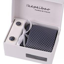 Wholesale 8cm Ties Dotted - 8cm Men Ties Silk Tie Mens Neck Ties Handmade Wedding Party Paisley Necktie British Style Business Ties Stripes