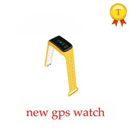 Wholesale baby positioning - Wholesale- 2017 new release Baby GPS Watch with gps Positioning 1.1 Inch Screen SOS Tracker Safe two way call remote camera Kids GPS watch