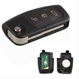 Wholesale Focus Remote Key - 3 Button Remote Key Fob 433MHz With Chip 4D63 for Ford Focus Monde