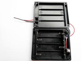 enchufes de banana de cobre Rebajas soporte de batería impermeable ip65 2aa 3aa 4aa para tira de luz led, etc.
