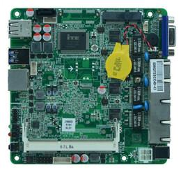 hp socket 478 Rebajas Placa base Fanless J1900 de la plataforma SOC de Intel Bay Trail SOC con 1 * SO DDRIII compatible con 1600 / 1333MHz DDR3L / 1.35V