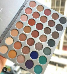 prices makeup box Coupons - lowest price ! hot new makeup palette white box 35 Colors eyeshadow palette   eyeshadow palettes ! DHL Free shipping
