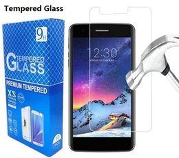Wholesale Lg Optimus Glass - For LG K8 Tempered Glass Screen Protector For LG K3 K4 K5 K7 K8 2017 2.5D 9H Anti Scratch With Retail Package
