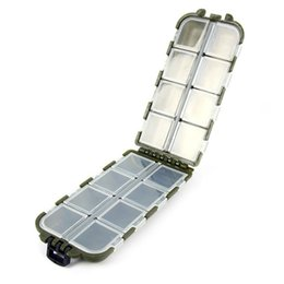 Wholesale Tackle Boxes For Sale - Wholesale- Fishing Tackle Boxes Fishing Accessories Case Fish Lure Bait Hooks Tackle Tool for Storing Swivels Hooks Lures Big Sale Hot Sale