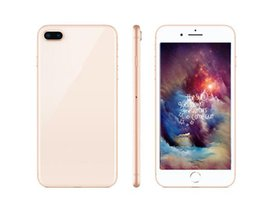 Wholesale Glasses Card - Goophone i8 plus Android cellphone 5.5inch MTK6580 quad core 1G 4G glass back cover Show 256GB unlocked phone