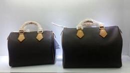 Wholesale Hobo Clutch Bag - New Fashion 35CM female leather handbag shoulder bag totes messenger bag Crossbody Bag clutch Model 41526