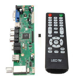 Wholesale Vga Controller - Wholesale-1920*1080 LCD Controller Mother Board universal Resolution TV Motherboard VGA HDMI AV TV USB HDMI Interface Driver Tools Kit Pro
