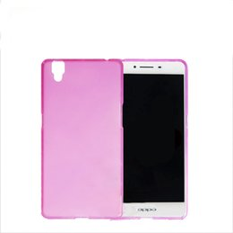 Wholesale Mobile Phone Shell Material - OPPO R7 R7S mobile phone sets fro Sumsung A9 following cases silicone soft shell and shell pudding coloured drawing or pattern material