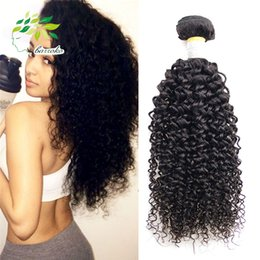 Wholesale Jerry Curl Weave Extensions Human Hair - 7a Peruvian Virgin Kinky Curly Weave Natural Color Curly Human Hair Extensions Remy Hair Sew In Extensions Jerry Curl Virgin Hair 100g