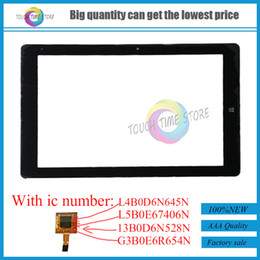 Wholesale Chuwi Tablets - Wholesale- New 10.1 inch Touch Screen For Chuwi Hi10 Pro CW1529 Dual OS Windows & Android Intel Tablet PC Capacitive Panel Digitizer Sensor