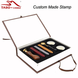 Wholesale Custom Wax Seal - Wholesale- Personal Custom Sealing Wax Stamp Set for the Best Gift Hot Private Custom Sealing Wax Stamp Unique Personal Logo Designs