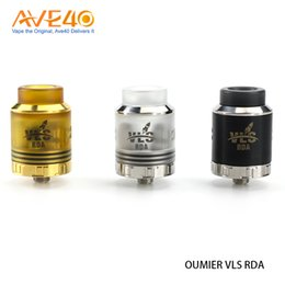 Wholesale Update Systems - OUMIER VLS RDA 810 Drip Tip Five holes Side Airflow System updated Wasp nano RDA 100% Original
