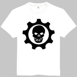 Wholesale Gears Wars - Gears of war t shirt Sera short sleeve gown Game tees Leisure clothing Quality cotton fabric Tshirt