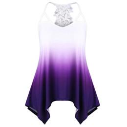 fc122a6e7b Best sale Women s tank top Casual Sleeveveless Lace Stitching Cutwork Lace  Trim summer crop Top hot girl vest