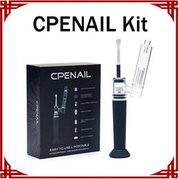 Aprire gli allegati online-Autentico Penna CPENAIL Dab Pen Kit 1100mAh Dab Rig Puro Titanio Vaporizzatore Quarzo Vetro ceramico Attacco Vape Pen Kit