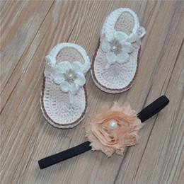 hand stricken schuhe Rabatt Koreanische Version von reizenden weichen, reinen Hand gesponnenen Baby-Schuhen, Schuhe, gestrickte Baby-Sandelholze, besonders angefertigt.
