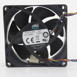 Nouveau original Cooler Master FA08025M12LPA 8025 80MM 8cm 80 * 80 * 25MM Boîtier PC Ventilateur 12V 0.45A ventilateur avec PWM 4pin ? partir de fabricateur