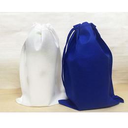 2019 deposito di scarti di polvere Promozione Borsa da viaggio in tessuto non tessuto Borsa da viaggio Borsa da viaggio in polvere Custodia antipolvere Tote Custodia Tote Borsa Scarpa antipolvere