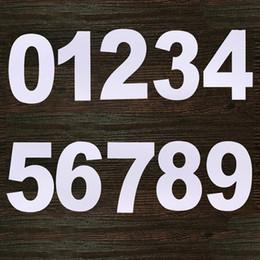 Bolos de números on-line-CORATED 10/12 polegadas PET Plástico 0-8 Números de silicone Molde Decoração Confeitaria Criador Bolo de Aniversário Projeto Pastelaria Ferramentas Bakeware