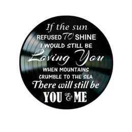 Led Zeppelin Remercie les paroles de la chanson sur un album de disques de vinyle ? partir de fabricateur