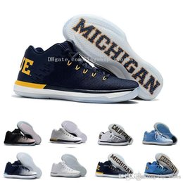 Wholesale California Leather - High Quality 31 Low Men Basketball Shoes Cheap s XXXI California Michigan Marquette Georgetown 31s Mens Sneakers