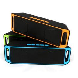 Yüksek Kalite Kablosuz Bluetooth Hoparlör Taşınabilir Kablosuz Akıllı Eller Serbest Stereo Subwoofer Hoparlörler Destek TF ve USB FM Radyo nereden yüksek kaliteli taşınabilir radyolar tedarikçiler