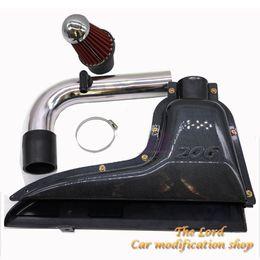 car air flow Australia - High flow car inlet box Air filter Carbon fiber style car styling FOR 106 206 306 VTS