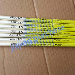 tour-anzeigenschächte Rabatt Golf Club Teile Golfschlägerschaft TOUR AD 65 Graphit 10PCS S flex oder 10PCS R flex oder SR 10 Stück Welle