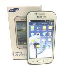 Samsung GALAXY Tendência Duos II S7572 S7562I 3G Telefone Inteligente Tela de 4.0 Polegadas Android4.1 WIFI GPS Dual Core Desbloqueado de