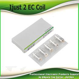 Bobinas ec on-line-Original EC bobina cabeça 0.3ohm 0.5ohm ECL 0.18ohm 0.3ohm cerâmica 0.5ohm TC bobinas para 2 Melo Atomizador 100% autêntico